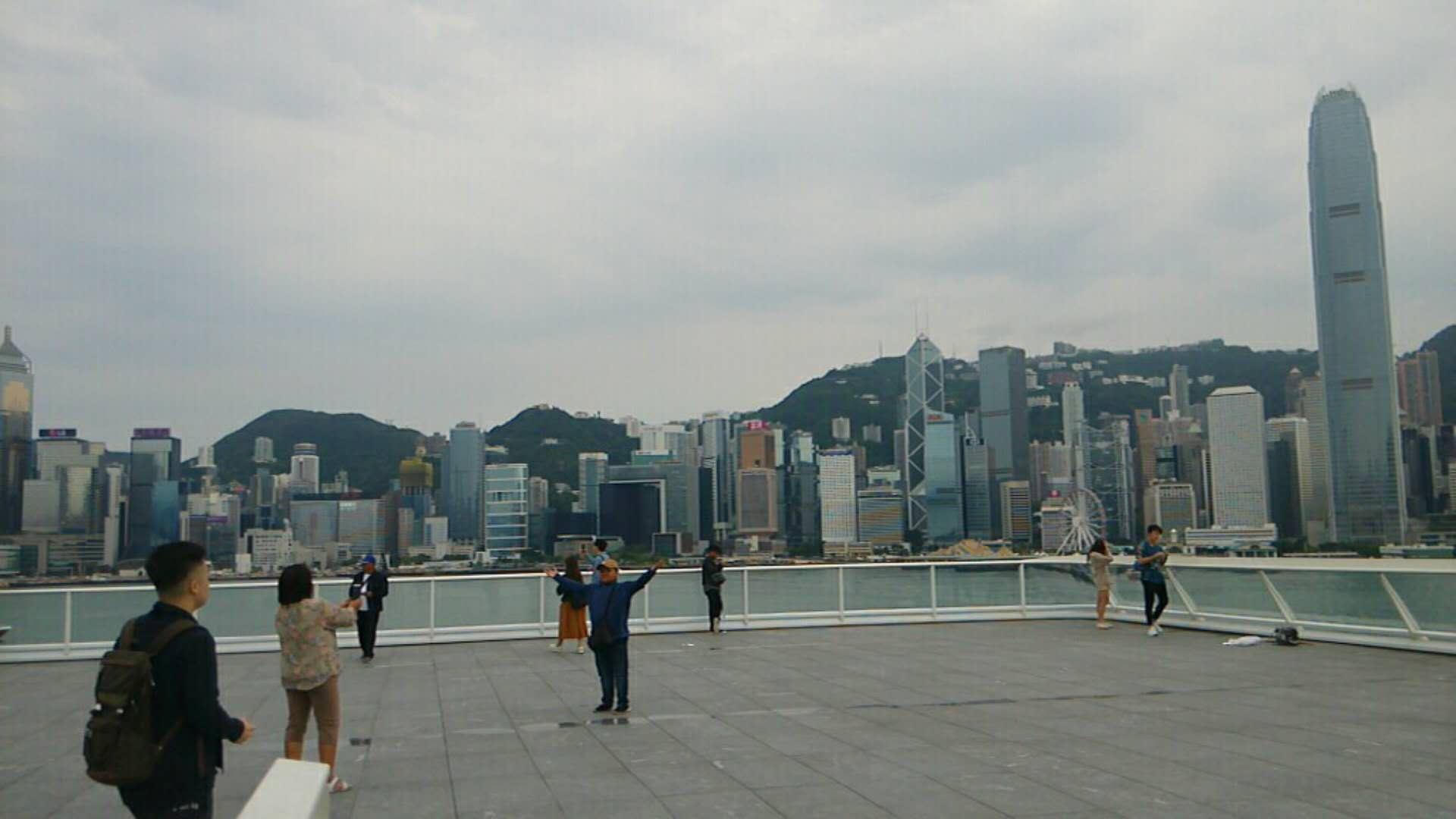 第一次在香港一日游的具体过程-深圳福田-香港落馬洲