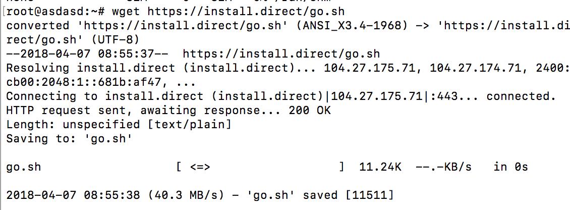 如何在Linux-debian-8.0系统的VPS上安装V2ray代理