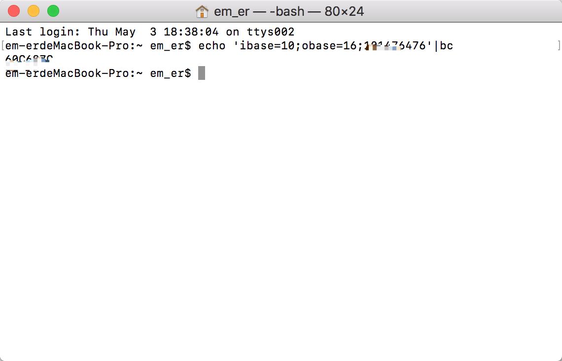 iOS开发 友盟分享QQ互联APPID 10进制转16进制