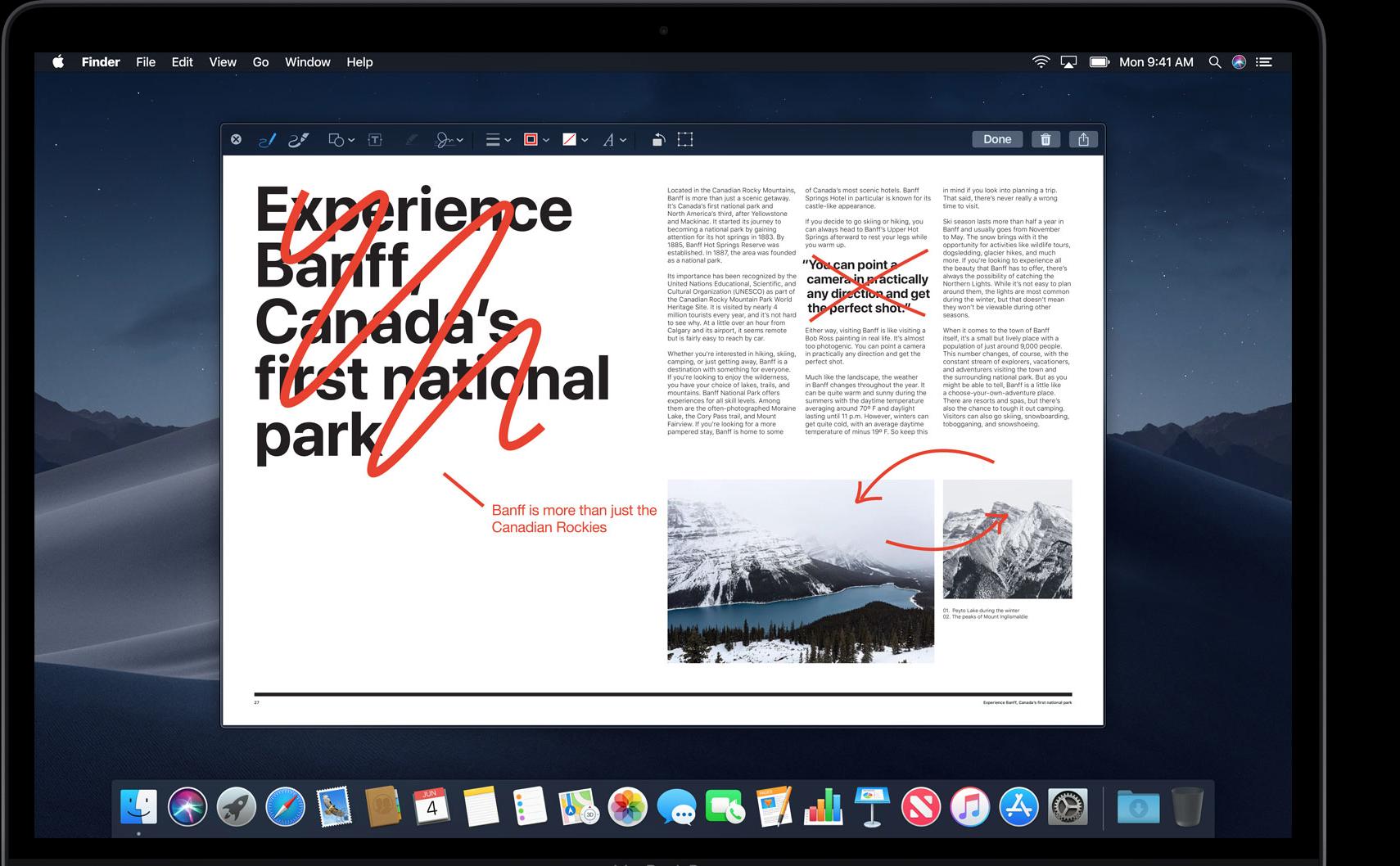 可以在Finder中快速编辑图片、视频等等,不需要打开特定软件
