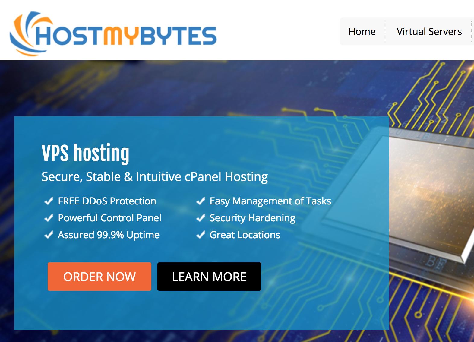 HostMyBytes年付10美元便宜VPS-支持支付宝VPS-支持更换iP-洛杉矶VPS提供亚洲优化线路并且提供DDoS保护