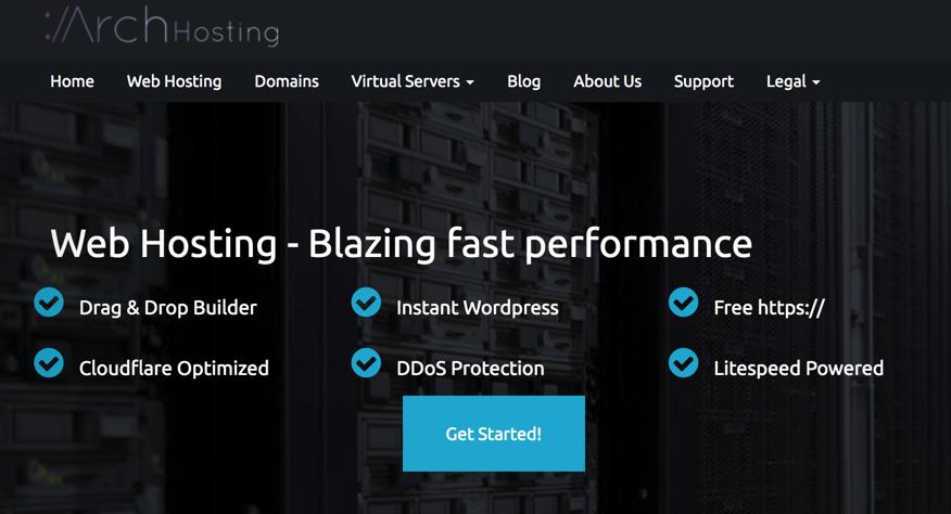 Arch Hosting优惠码,Arch Hosting 512RAM VPS年付21美元KVM、1GB RAM年付30美元,年付洛杉矶KVM-VPS