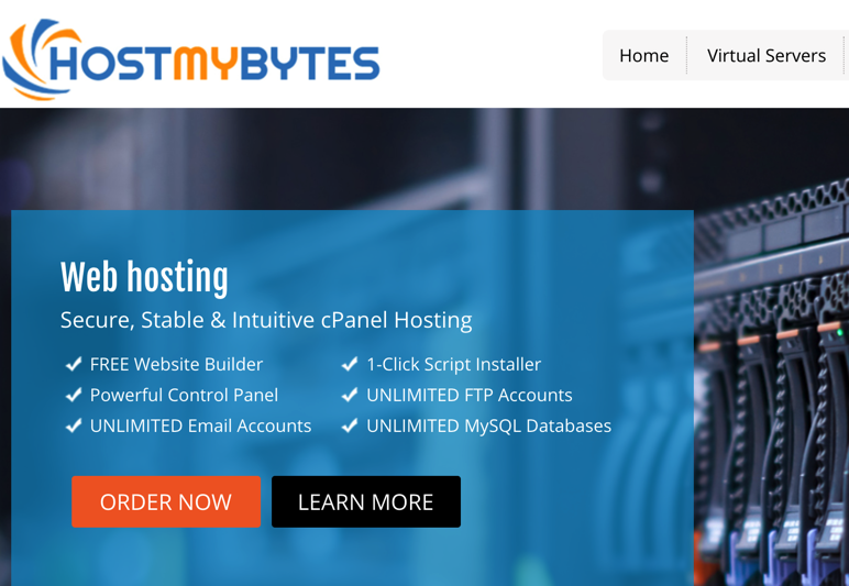 HostMyBytes年付15美元VPS,HostMyBytes年付29美元VPS,HostMyBytesVPS购买-黑色星期五- Black Friday