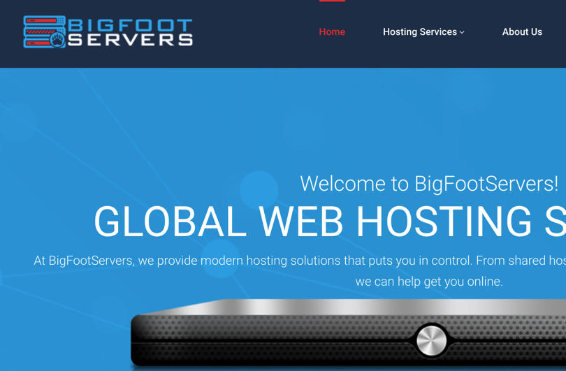 BigFootServers一年19美元可以创建两个VPS,BigFootServers可以创建多个VPS,BigFootServers购买链接,BigFootServers.com