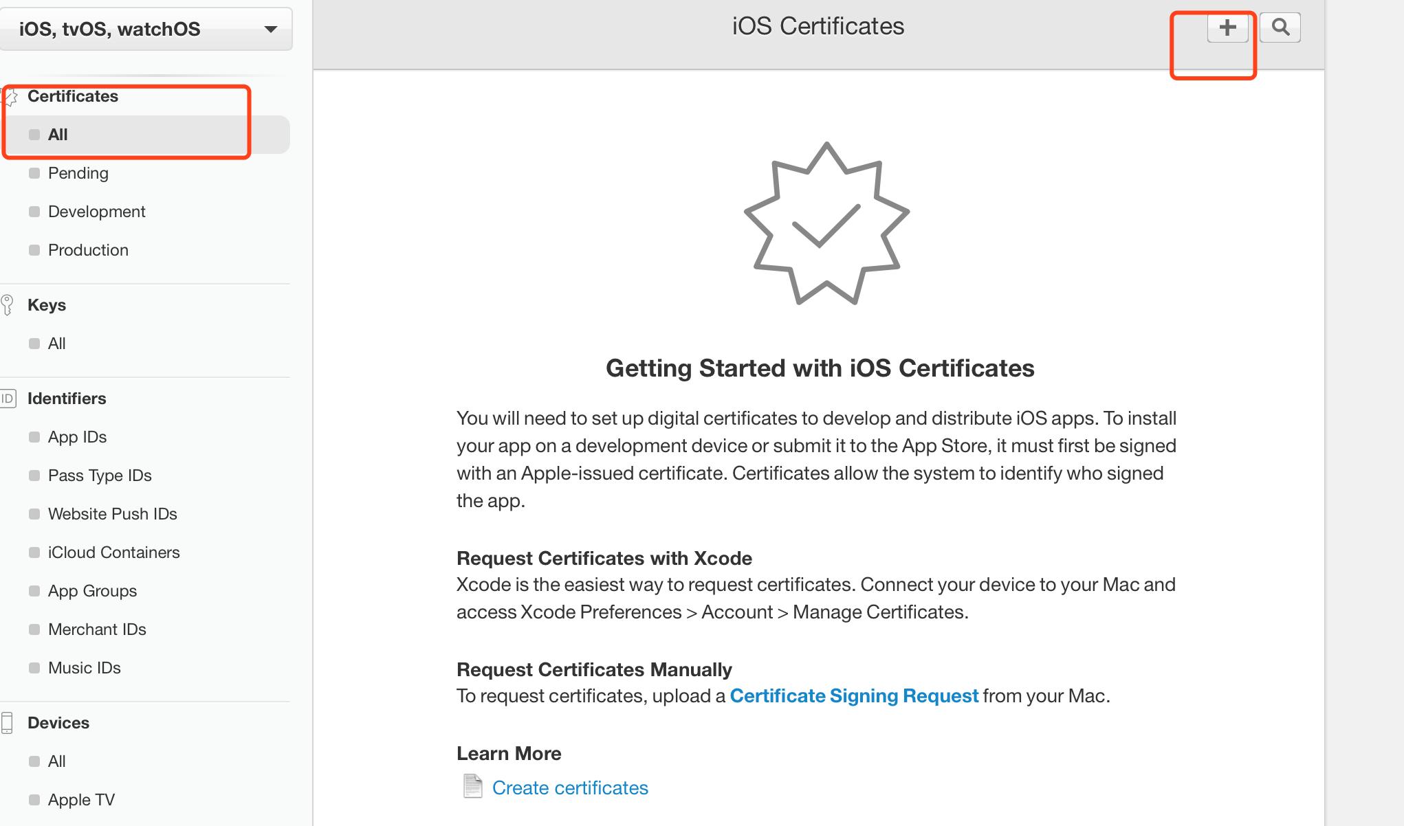 2019# iOS开发证书+生产证书+极光推送#  iOS开发者中心证书生成方法以及极光推送证书使用方法!
