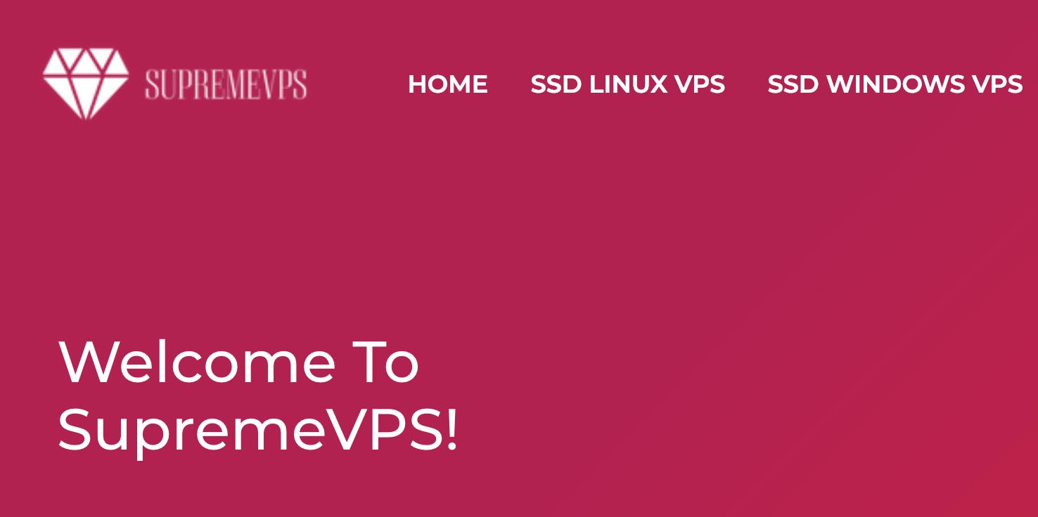 #年付19美元获得两个VPS# - SupremeVPS洛杉矶、芝加哥、纽约年付便宜VPS,SupremeVPS优惠码,SupremeVPS官网