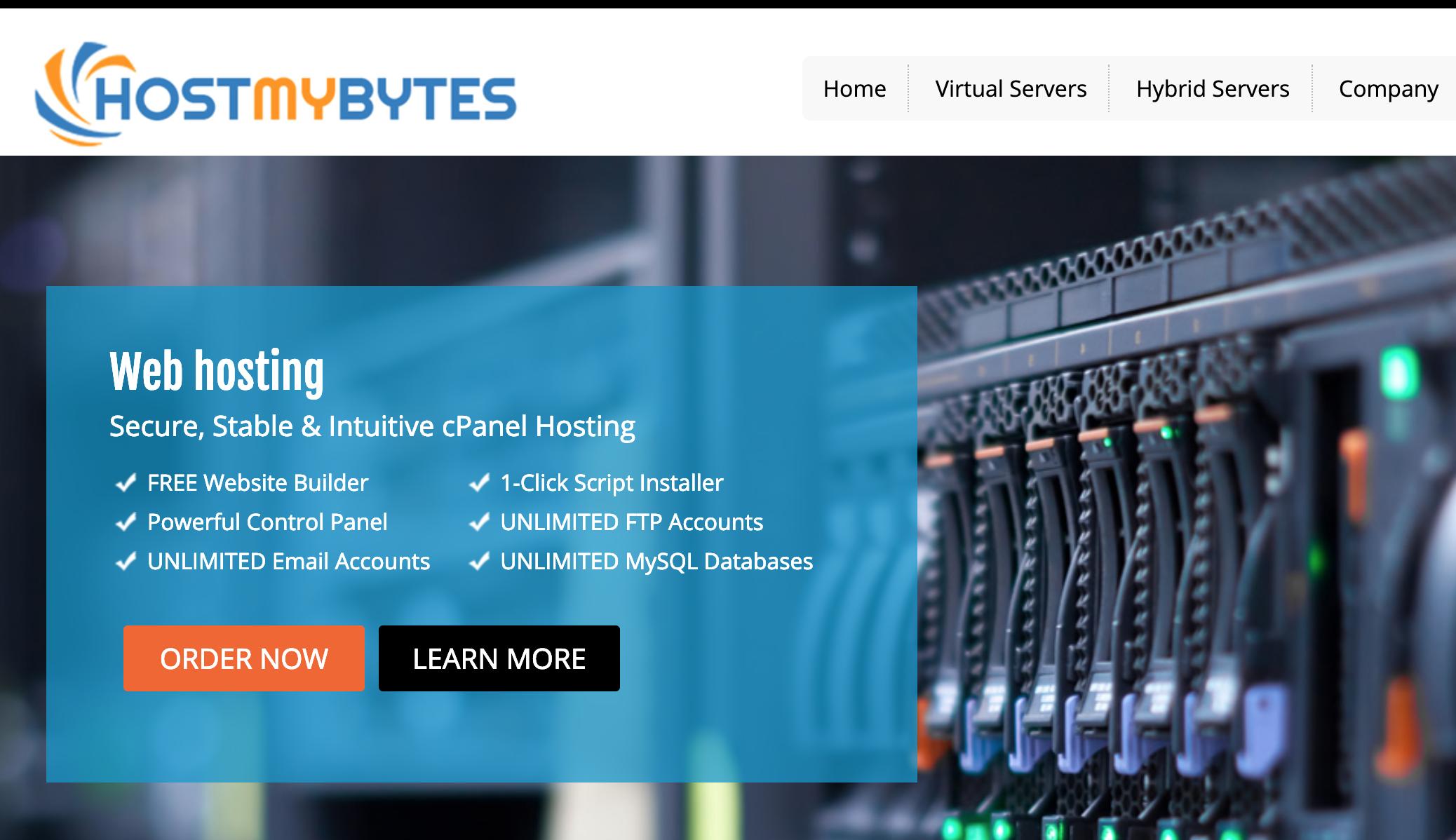 HostMyBytes亚洲优化线路洛杉矶服务器特价,年付7美元起 1GB内存 20GB存储 2TB月流量,支持支付宝、IPv6,HostMyBytes优惠码