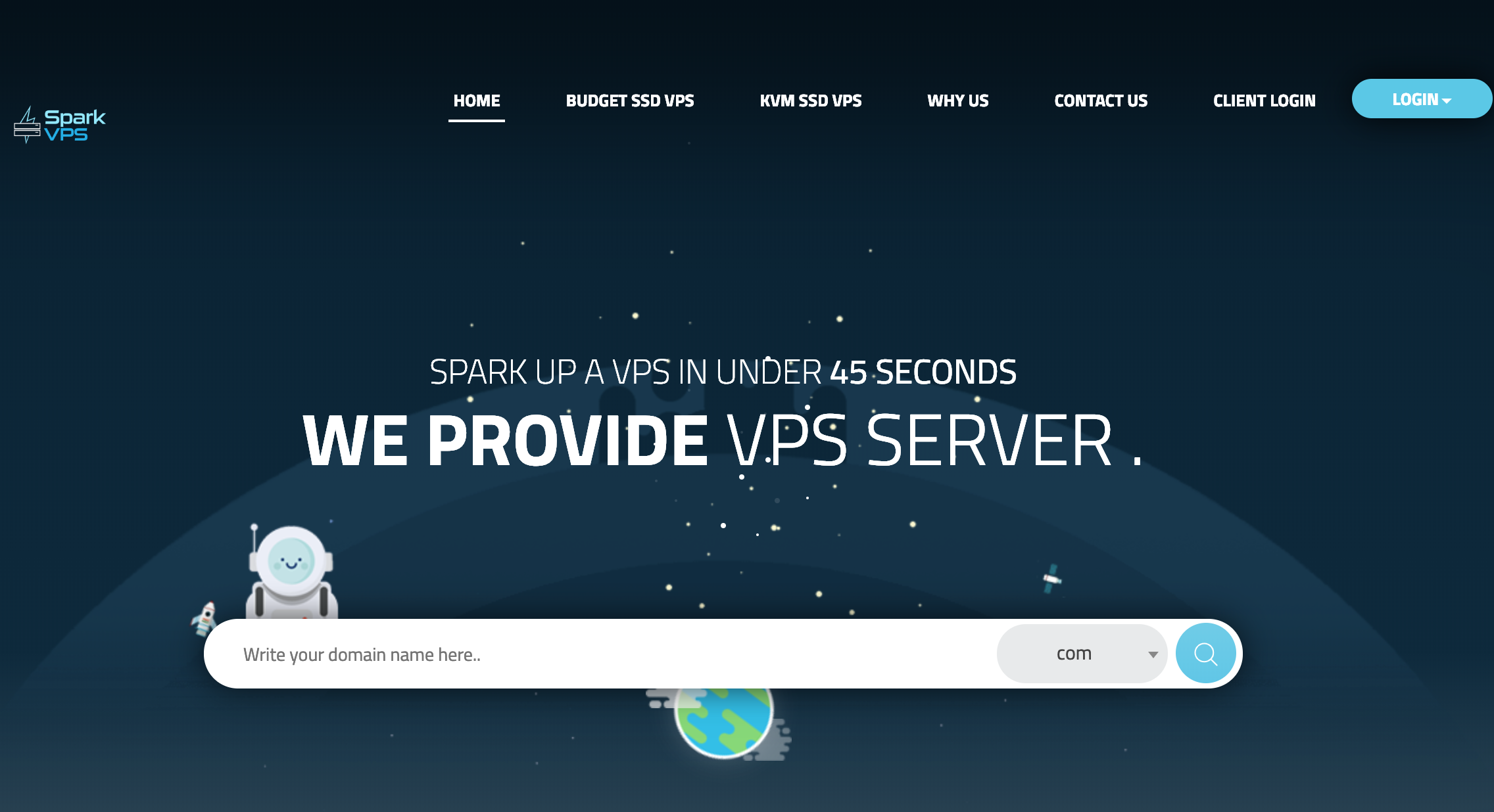 SparkVPS KVM虚拟化年付25美元起,可自定义操作系统、自定义内核,SparkVPS优惠码