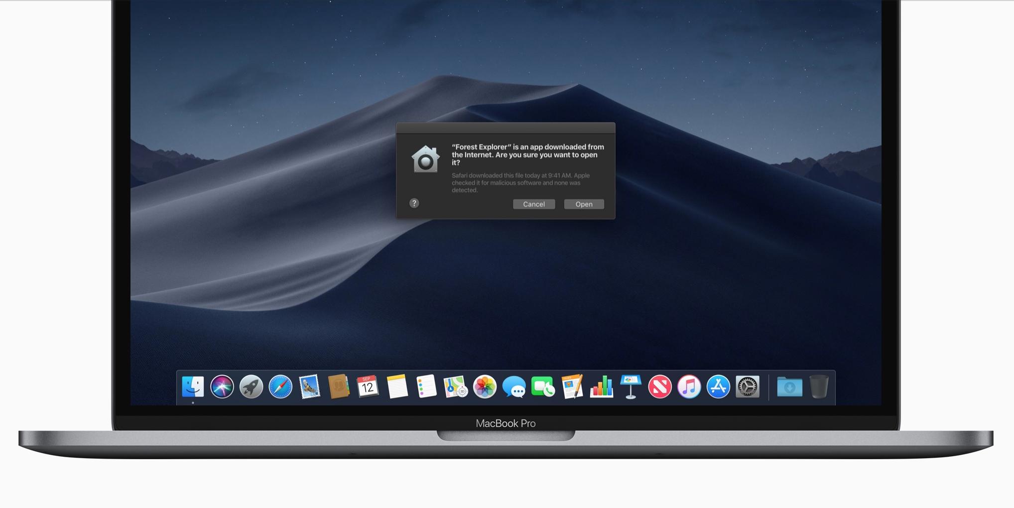 Apple关于MacOS App Store的最新新闻计划。
