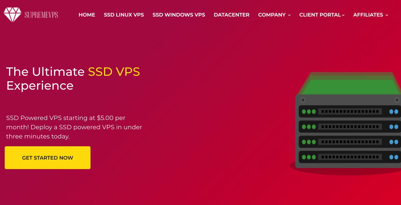 SupremeVPS支持支付宝、微信支付的VPS,Windows Linux KVM SSD VPS,年付40美元起,SupremeVPS优惠码