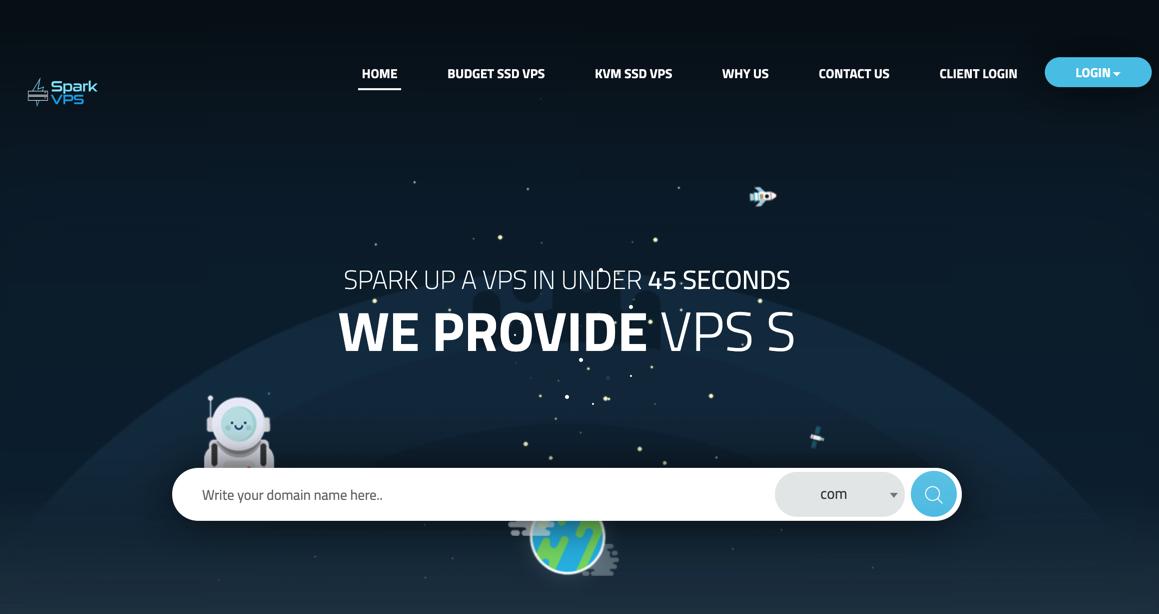 难道最近VPS在涨价吗?SparkVPS达拉斯年付50美元OpenVZ虚拟化VPS