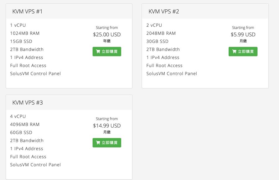 SnowVPS芝加哥KVM虚拟化VPS,年付20美元起、1GB内存、10GB SSD、2TB月流量。