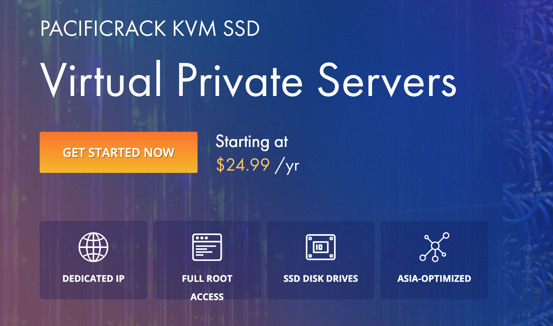 年付12美元洛杉矶KVM虚拟化VPS,支持支付宝、微信付款。