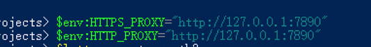 PowerShell - CMD 设置HTTPHTTPS代理