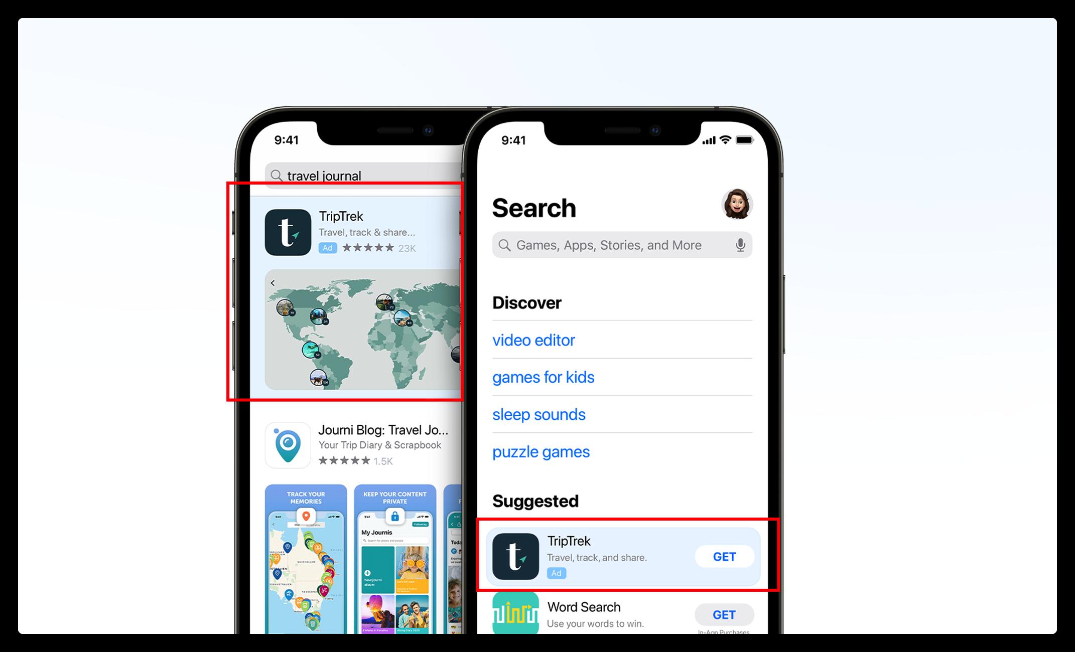 App Store免费赠送100美元,用于购买App Store搜索竞价广告。